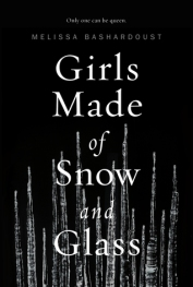 girls made of glass and snow